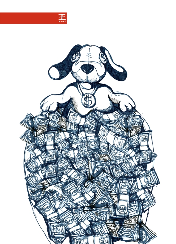 money_dog